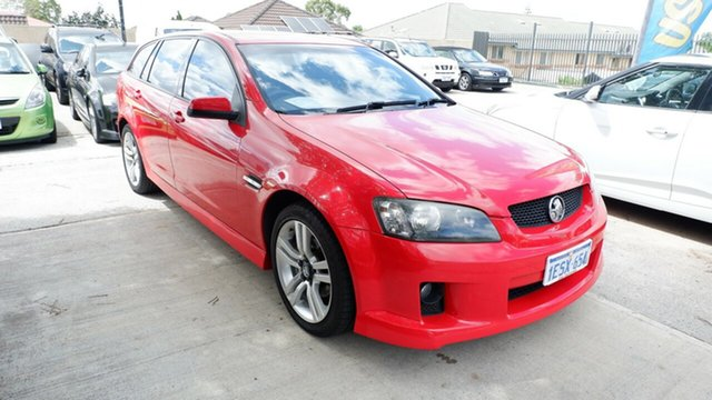 Used Holden Commodore VE MY09.5 SV6 Sportwagon, 2009 Holden Commodore VE MY09.5 SV6 Sportwagon Red 5 Speed Sports Automatic Wagon