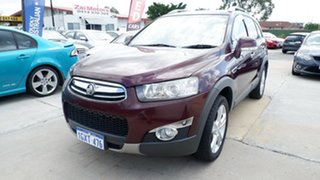 2012 Holden Captiva CG Series II 7 AWD LX Maroon 6 Speed Sports Automatic Wagon.