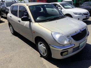 2002 Daihatsu Sirion M100RS Bianca White 5 Speed Manual Hatchback.