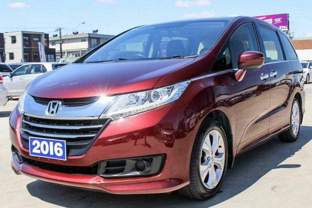 Used Honda Odyssey RC MY16 VTi, 2016 Honda Odyssey RC MY16 VTi Maroon 7 Speed Constant Variable Wagon
