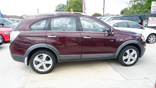 2012 Holden Captiva CG Series II 7 AWD LX Maroon 6 Speed Sports Automatic Wagon