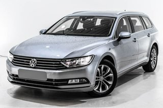 2019 Volkswagen Passat 3C (B8) MY19 132TSI DSG Silver 7 Speed Sports Automatic Dual Clutch Wagon.