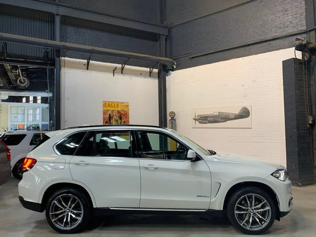 Used BMW X5 F15 sDrive25d, 2014 BMW X5 F15 sDrive25d White 8 Speed Automatic Wagon
