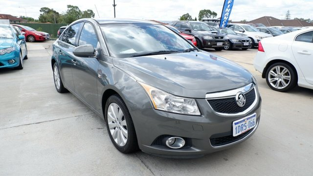 Used Holden Cruze JH Series II MY11 CDX, 2011 Holden Cruze JH Series II MY11 CDX Grey 5 Speed Manual Sedan