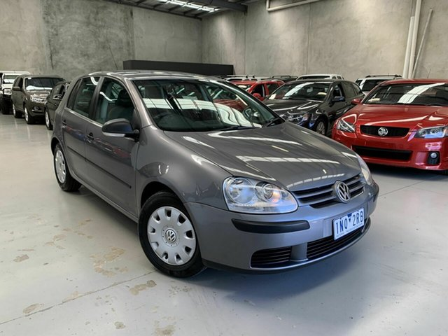 Used Volkswagen Golf V MY07 Trendline DSG, 2007 Volkswagen Golf V MY07 Trendline DSG Grey 6 Speed Sports Automatic Dual Clutch Hatchback