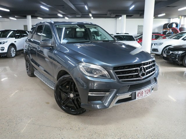 Used Mercedes-Benz M-Class W166 ML250 BlueTEC 7G-Tronic +, 2012 Mercedes-Benz M-Class W166 ML250 BlueTEC 7G-Tronic + Tenorite Grey 7 Speed Sports Automatic