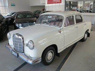 1961 Mercedes-Benz 190B W121 White 4 Speed Manual Sedan.