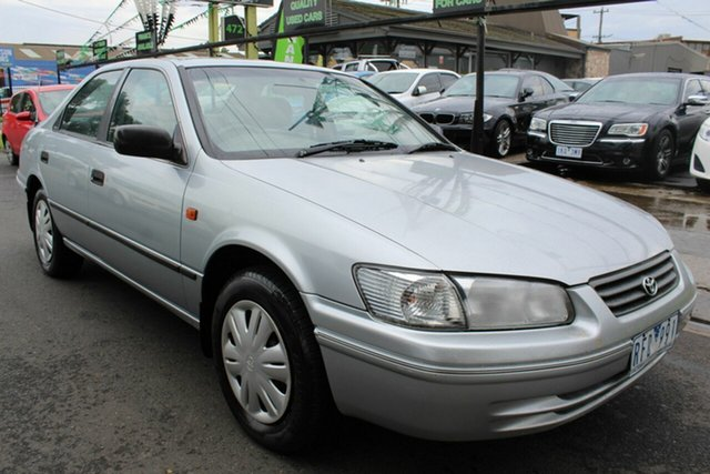 Used Toyota Camry SXV20R CSi West Footscray, 2001 Toyota Camry SXV20R CSi Silver 4 Speed Automatic Sedan