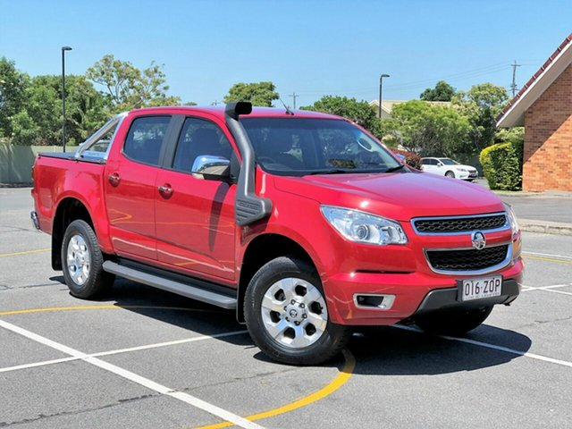 Used Holden Colorado RG MY15 LTZ Crew Cab, 2014 Holden Colorado RG MY15 LTZ Crew Cab Red 6 Speed Sports Automatic Utility
