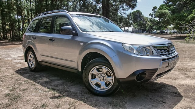 Used Subaru Forester S3 MY12 X AWD, 2012 Subaru Forester S3 MY12 X AWD Silver 4 Speed Sports Automatic Wagon