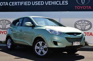 2010 Hyundai ix35 LM Active (FWD) Green 6 Speed Automatic Wagon.