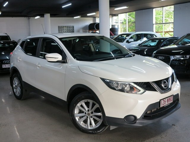 Used Nissan Qashqai J11 ST, 2016 Nissan Qashqai J11 ST White 6 Speed Manual Wagon