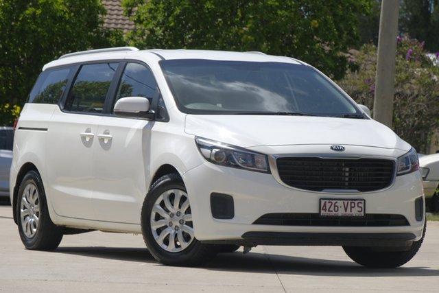 Used Kia Carnival YP MY15 S, 2015 Kia Carnival YP MY15 S White 6 Speed Sports Automatic Wagon