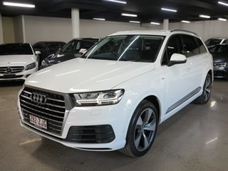 2016 Audi Q7 4M MY17 TDI Tiptronic Quattro White 8 Speed Sports Automatic Wagon