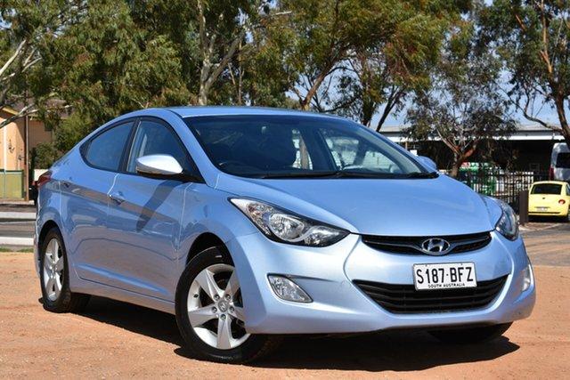 Used Hyundai Elantra MD2 Active, 2012 Hyundai Elantra MD2 Active Aubergine 6 Speed Sports Automatic Sedan