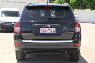 2014 Jeep Compass MK MY14 Limited Black 6 Speed Sports Automatic Wagon