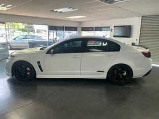 2014 Holden Commodore VF MY15 SS White 6 Speed Automatic Sedan.