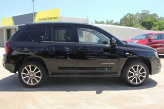 2014 Jeep Compass MK MY14 Limited Black 6 Speed Sports Automatic Wagon.