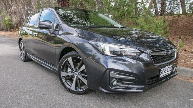Demo Subaru Impreza G5 MY19 2.0i-S CVT AWD, 2019 Subaru Impreza G5 MY19 2.0i-S CVT AWD Dark Grey 7 Speed Constant Variable Hatchback