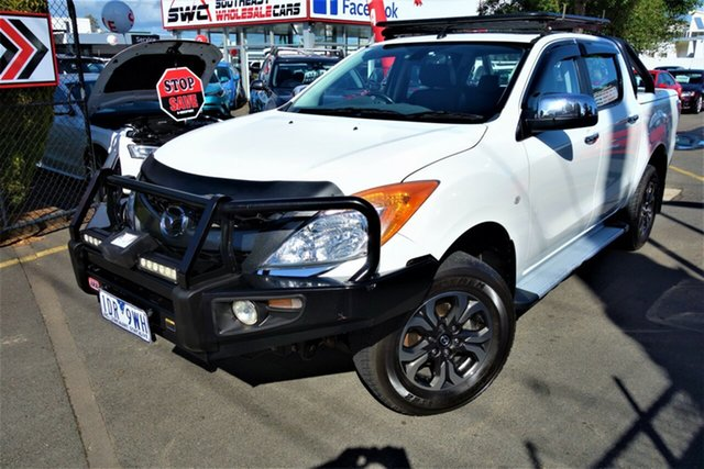 Used Mazda BT-50 UP0YF1 GT, 2014 Mazda BT-50 UP0YF1 GT White 6 Speed Sports Automatic Utility