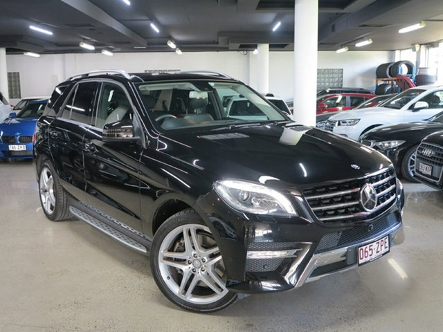 Used Mercedes-Benz M-Class W166 MY805 ML400 7G-Tronic +, 2015 Mercedes-Benz M-Class W166 MY805 ML400 7G-Tronic + Black 7 Speed Sports Automatic Wagon