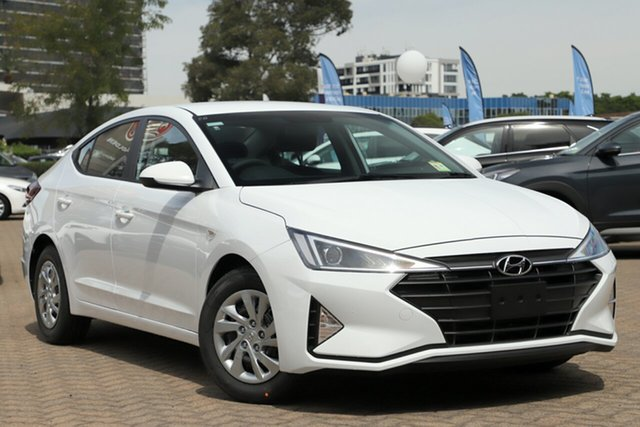 New Hyundai Elantra AD.2 MY20 Go Nunawading, 2019 Hyundai Elantra AD.2 MY20 Go Polar White 6 Speed Sports Automatic Sedan