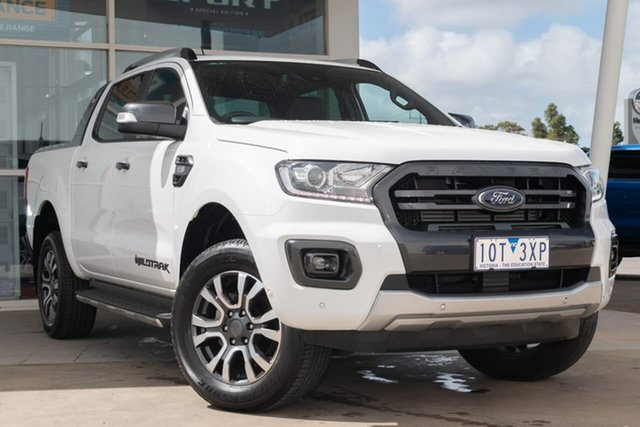 Used Ford Ranger PX MkIII 2019.00MY Wildtrak Pick-up Double Cab, 2019 Ford Ranger PX MkIII 2019.00MY Wildtrak Pick-up Double Cab 6 Speed Sports Automatic Utility