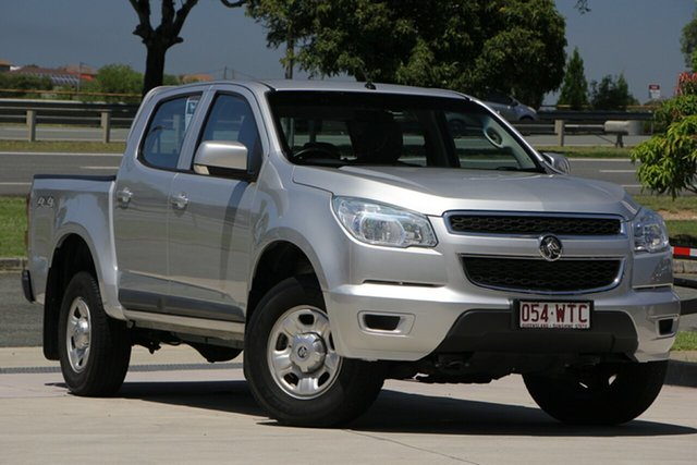 Used Holden Colorado RG MY16 LS Crew Cab, 2016 Holden Colorado RG MY16 LS Crew Cab Silver 6 Speed Sports Automatic Utility