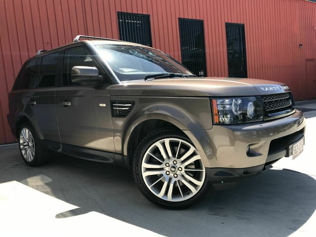 Used Land Rover Range Rover Sport L320 13MY SDV6, 2012 Land Rover Range Rover Sport L320 13MY SDV6 Bronze 6 Speed Sports Automatic Wagon