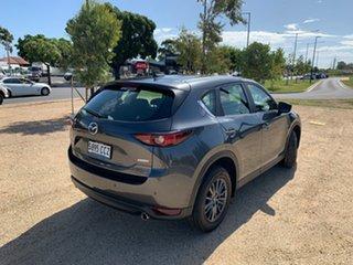 2019 Mazda CX-5 KF4W2A Maxx SKYACTIV-Drive i-ACTIV AWD Sport Machine Grey 6 Speed Sports Automatic.