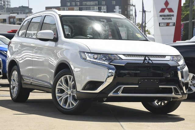 New Mitsubishi Outlander ZL MY20 ES 2WD Gladstone, 2019 Mitsubishi Outlander ZL MY20 ES 2WD Starlight 6 Speed Constant Variable Wagon