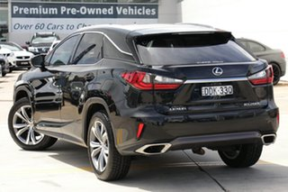 2015 Lexus RX 200t AGL20R Luxury Black 6 Speed Sports Automatic Wagon.