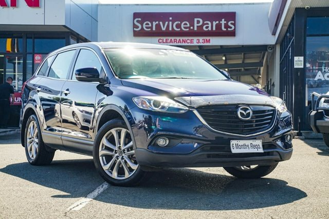 Used Mazda CX-9 TB10A5 Grand Touring Activematic AWD, 2013 Mazda CX-9 TB10A5 Grand Touring Activematic AWD Blue 6 Speed Sports Automatic Wagon