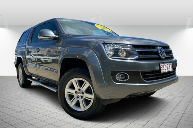 Used Volkswagen Amarok 2H MY13 TDI400 4Mot Highline, 2013 Volkswagen Amarok 2H MY13 TDI400 4Mot Highline Grey 6 Speed Manual Utility