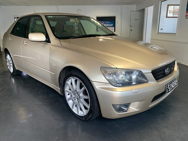 Used Lexus IS300 JCE10R Sports Luxury, 2004 Lexus IS300 JCE10R Sports Luxury Gold 5 Speed Automatic E-Shift Sedan