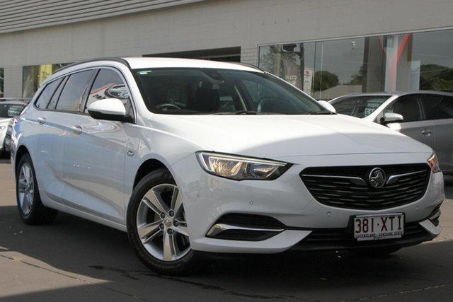 Used Holden Commodore ZB MY18 LT Sportwagon, 2017 Holden Commodore ZB MY18 LT Sportwagon White 9 Speed Sports Automatic Wagon