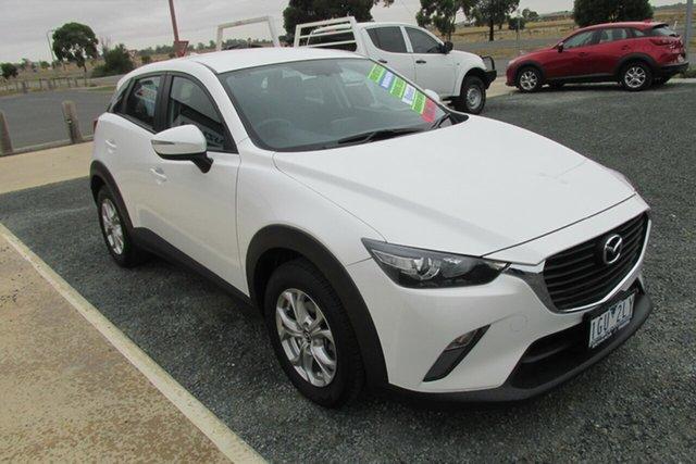 Used Mazda CX-3 DK2W7A Maxx SKYACTIV-Drive, 2016 Mazda CX-3 DK2W7A Maxx SKYACTIV-Drive White 6 Speed Sports Automatic Wagon