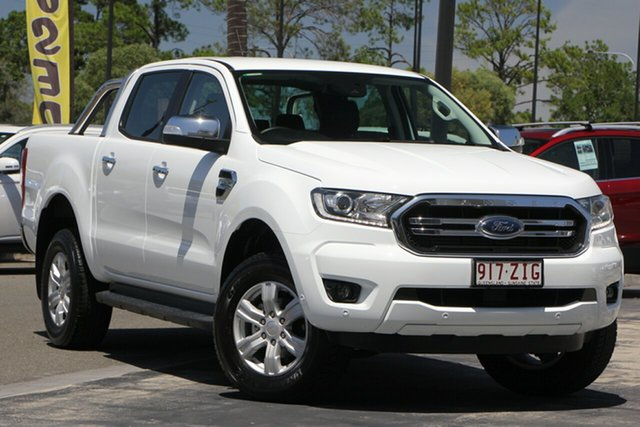 Used Ford Ranger PX MkIII 2019.00MY XLT Pick-up Double Cab, 2018 Ford Ranger PX MkIII 2019.00MY XLT Pick-up Double Cab White 6 Speed Sports Automatic Utility