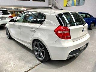 2009 BMW 118i E87 118i White Automatic Hatchback