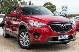 2013 Mazda CX-5 KE1071 MY13 Maxx SKYACTIV-Drive Sport Red 6 Speed Sports Automatic Wagon.