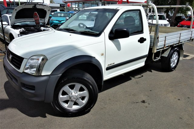 Used Holden Rodeo RA MY05 LX 4x2, 2005 Holden Rodeo RA MY05 LX 4x2 White 4 Speed Automatic Cab Chassis