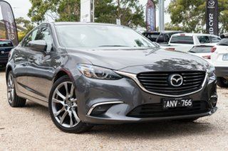 2017 Mazda 6 GL1021 GT SKYACTIV-Drive Grey 6 Speed Sports Automatic Sedan.