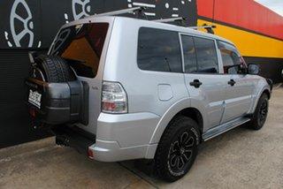 2011 Mitsubishi Pajero NT MY11 GL Cool Silver 5 Speed Manual Wagon.