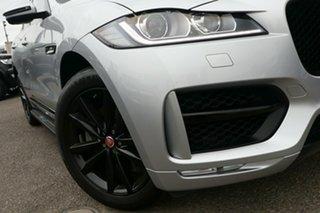 2017 Jaguar F-PACE X761 MY17 30d AWD R-Sport Silver 8 Speed Sports Automatic Wagon.