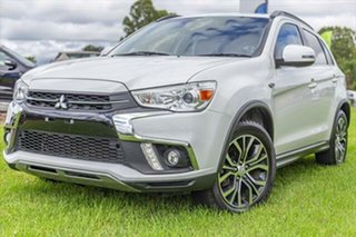 2017 Mitsubishi ASX XC MY18 LS 2WD White 6 Speed Constant Variable Wagon.