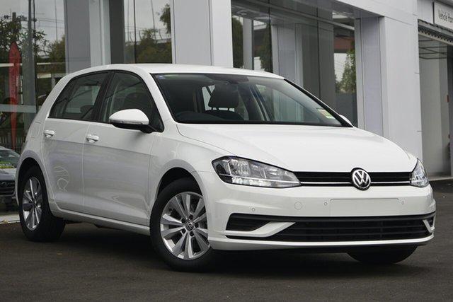 Demo Volkswagen Golf 7.5 MY20 110TSI Trendline, 2019 Volkswagen Golf 7.5 MY20 110TSI Trendline White 6 Speed Manual Hatchback