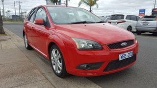 2007 Ford Focus LT Zetec Red 5 Speed Manual Hatchback.