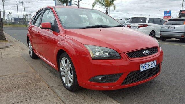 Used Ford Focus LT Zetec, 2007 Ford Focus LT Zetec Red 5 Speed Manual Hatchback