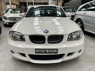 2009 BMW 118i E87 118i White Automatic Hatchback.