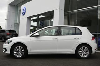 2019 Volkswagen Golf 7.5 MY20 110TSI Trendline White 6 Speed Manual Hatchback